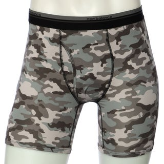 New Balance Men's Black Camo Photoprint Boxer Briefs