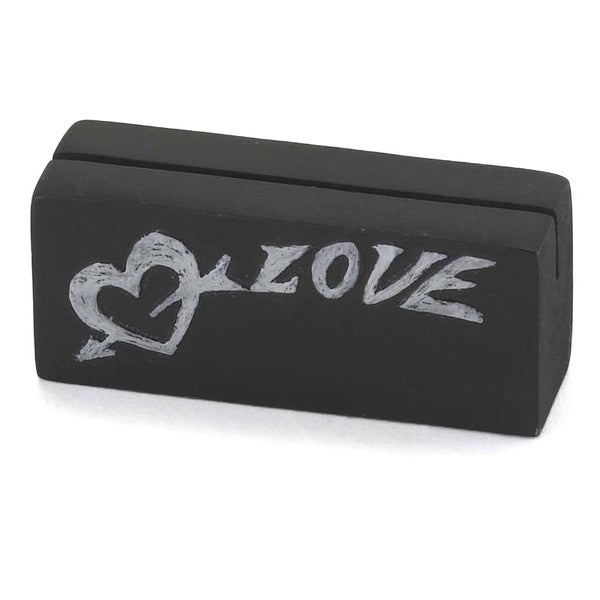 Love Chalk Card Holder