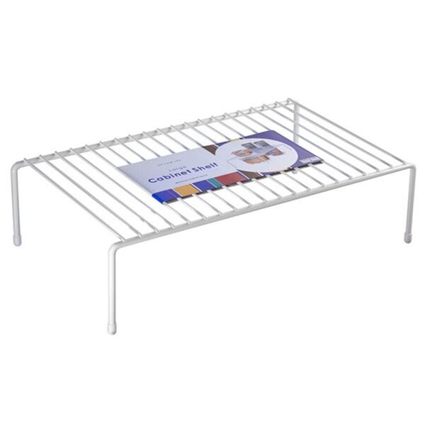 Organized Living White Large Cabinet Shelf