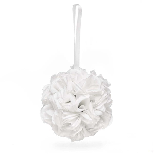 White Rose Kissing Ball