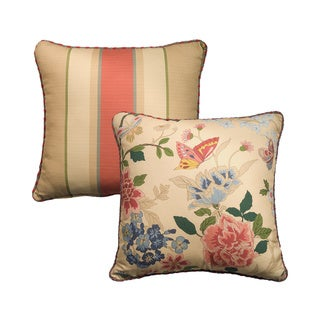 Arboretum 18-inch Square Reversible Throw Pillow