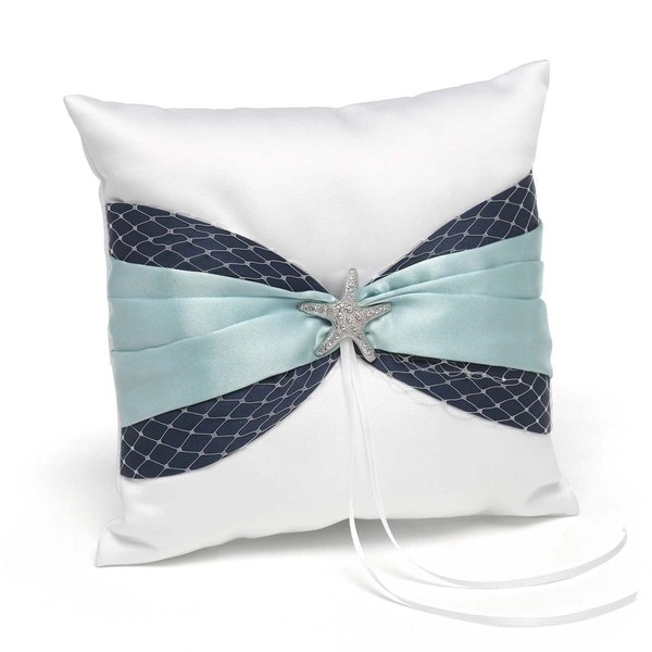 Hortense B. Hewitt Treasure of the Sea Ring Pillow
