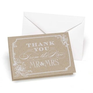Hortense B. Hewitt Country Blossom Thank You Cards