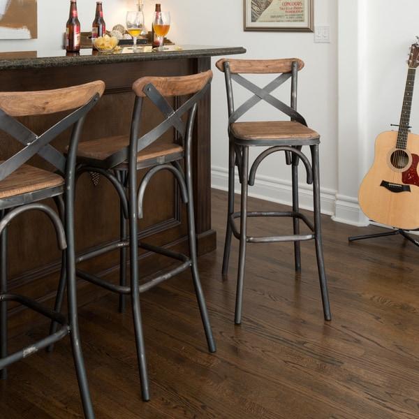 Dixon Rustic Bar Stool : Dixon Black Natural Rustic Bar Counter Stool 3bc6644c 25f8 440b 8445 163007a13462600 from www.overstock.com size 600 x 600 jpeg 83kB