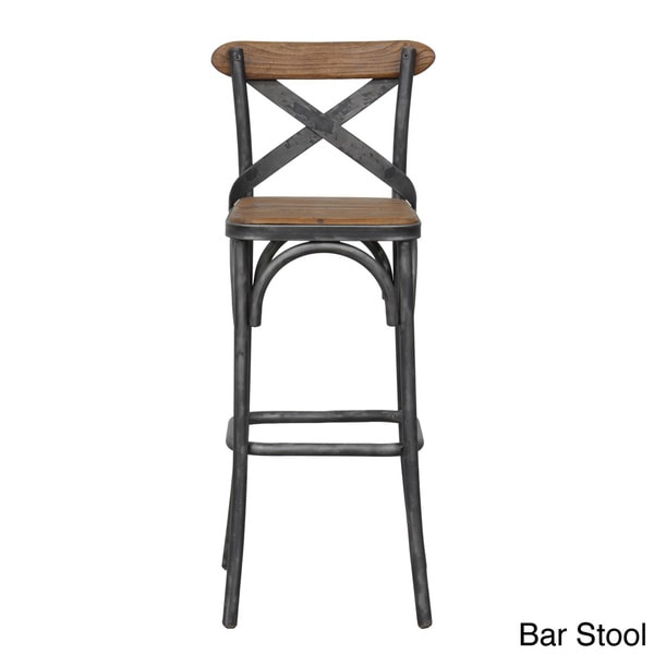 Dixon Black Natural Rustic Bar Stool Overstock  : Dixon Black Natural Rustic Bar Stool 1893e477 5bc6 47ca bbbf bb94bdcef260600 from www.overstock.com size 600 x 600 jpeg 13kB