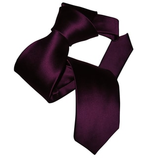 Dmitry Men's Purple Italian Silk Tie