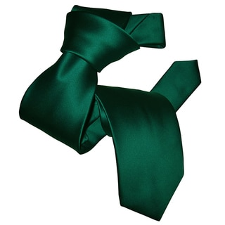 Dmitry Men's Teal Italian Silk Tie