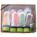Natural Handmade Bath and Body Moisturizers, Sugar Scrubs, Lip Balms and Handamde Soaps 14-piece Sampler Gift Set