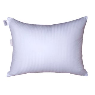 Damask Stripe Medium Density Goose Down Pillow