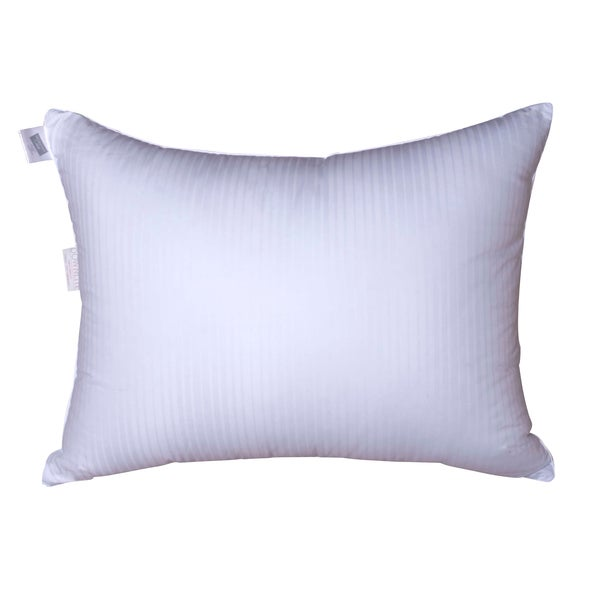 Damask Stripe Firm Density Goose Down Pillow