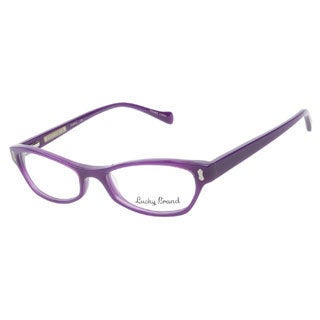 Lucky Trixie Purple Prescription Eyeglasses