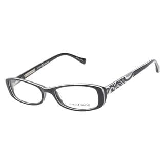 Lucky Abbey Black White Grey Prescription Eyeglasses