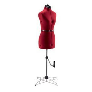 Singer Small Red Dress Form