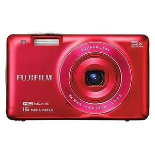 Fujifilm FinePix JX660 16 Megapixel Compact Camera - Red