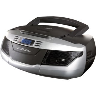 Supersonic Portable MP3/CD Cassette Recorder with AM/FM Radio, USB/SD