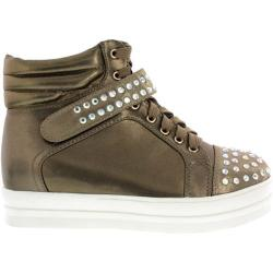Women's Wild Diva Quantis-2 Brown Faux Leather