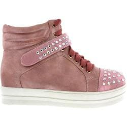 Women's Wild Diva Quantis-2 Pink Faux Leather