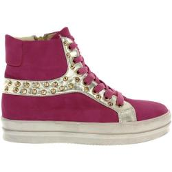 Women's Wild Diva Quantis-3 Fuchsia Faux Leather