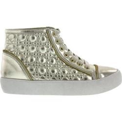 Women's Wild Diva Quantis-6 Gold Faux Leather