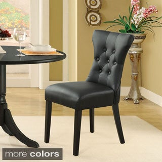 Silhouette Modern Tufted Back Dining Chair