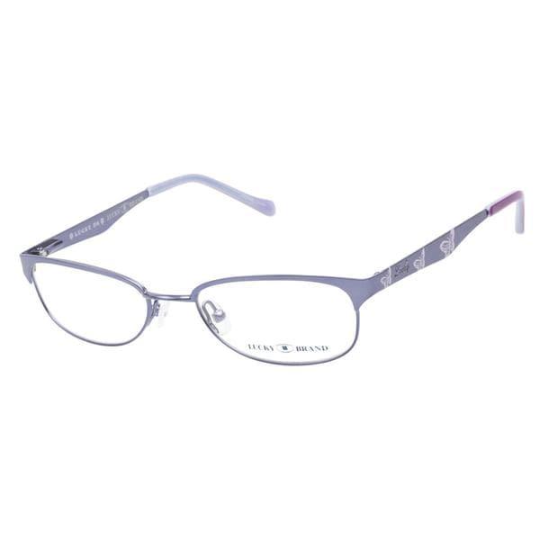 Lucky Lizzie Blue Prescription Eyeglasses