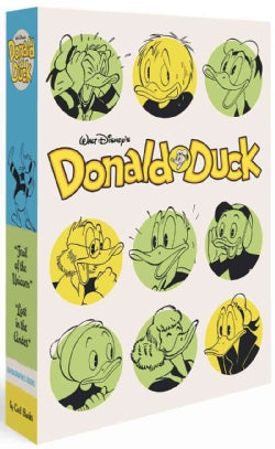 Walt Disney's Donald Duck: Lost in the Andes; Trail of the Unicorn- Box Set (Hardcover)