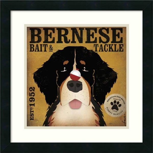 Stephen Fowler 'Bernese Bait & Tackle' Framed Art Print
