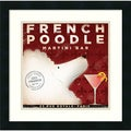 Stephen Fowler 'French Poodle' Framed Art Print