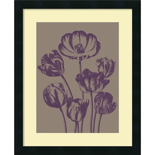 Botanical Series Tulip 14 18x22-inch Framed Art Print
