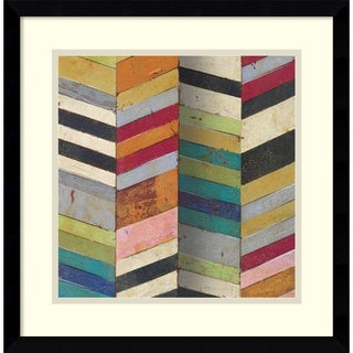 Susan Hayes Racks & Stacks II 17x17-inch Framed Art Print