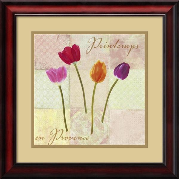 Remy Dellal 'Printemps en Provence (Spring in Provence)' Framed Art Print