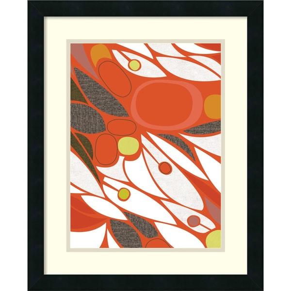 Jenn Ski Vacuoles No. 1 18x22-inch Framed Art Print