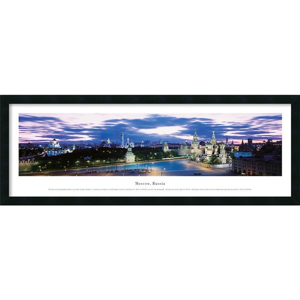 James Blakeway Moscow, Russia 42x15-inch Framed Art Print