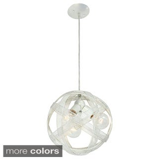 Varaluz At-Mesh-Sphere 3-light Pendant