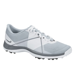 Nike Women's Lunar Summer Lite 2 White/ Grey Spikeless Golf Shoes