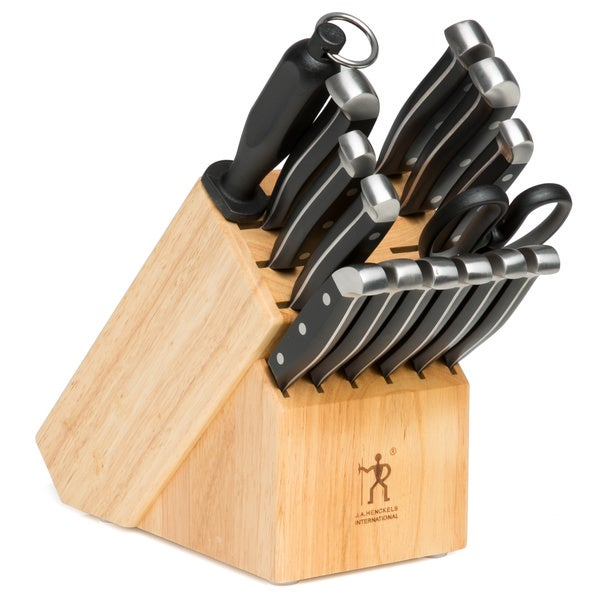 Zwilling JA Henckels International Statement 15-piece Stainless Steel Block Set