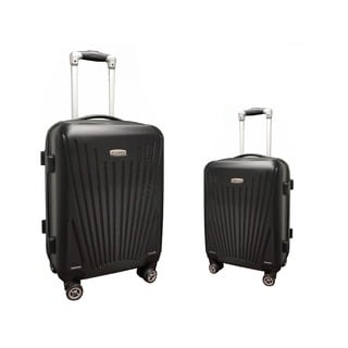 Hercules Cross Country 2-Piece Hardside Spinner Luggage Set