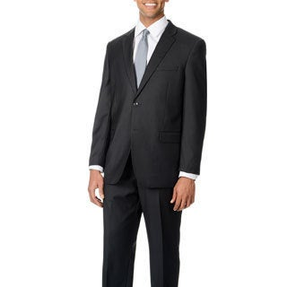 Caravelli Italy Men's 'Superior 150' Charcoal 2-button Suit