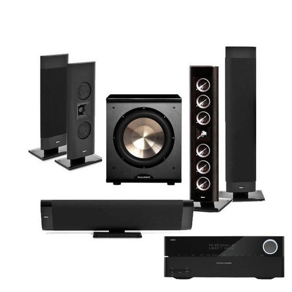 Klipsch Gallery G-28 5.1 Home Theater Bundle