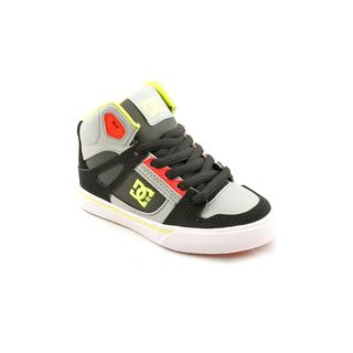 DC Boy (Youth) 'Spartan HI' Leather Athletic Shoe