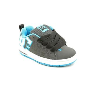 DC Boy (Youth) 'Court Graffik SE' Leather Athletic Shoe