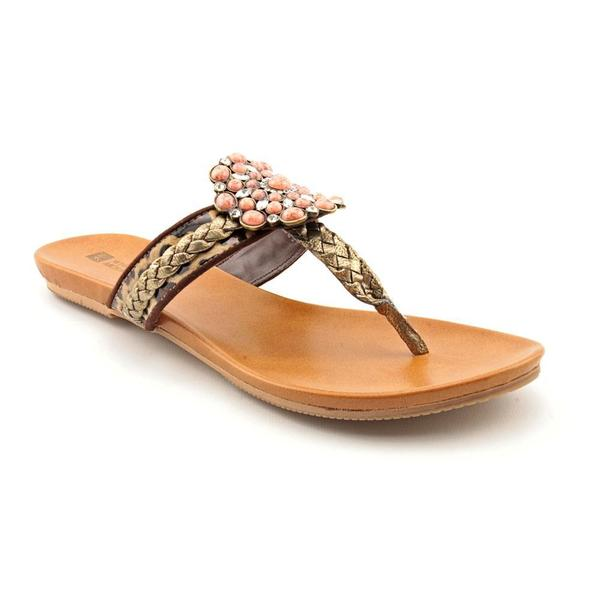 White Mountain Women's 'Enrich' Basic Textile Sandals