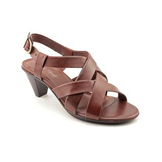 Walking Cradles Women's 'Spirit' Leather Sandals - Extra Wide