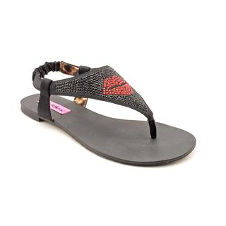 Betsey Johnson Women's 'Blayzinn' Fabric Sandals