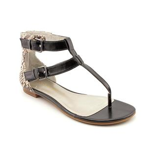 Enzo Angiolini Women's 'Trooper' Basic Textile Sandals
