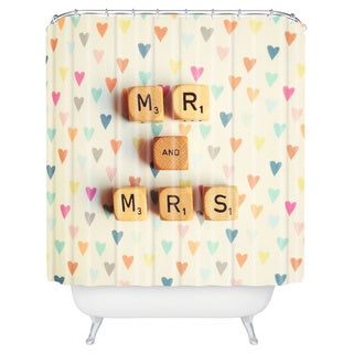 Happee Monkee Mr And Mrs Shower Curtain