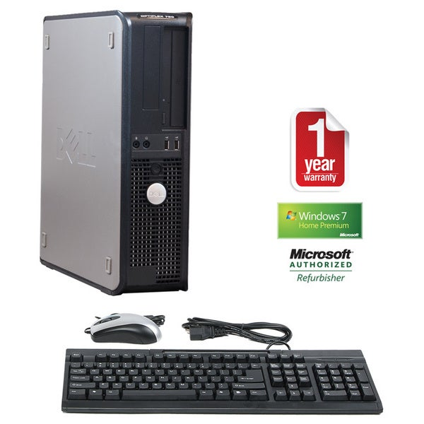 Dell OptiPlex 760 Core 2 Duo 3.0GHz 4GB 500GB Win 7 Home Premium Desktop PC (Refurbished)