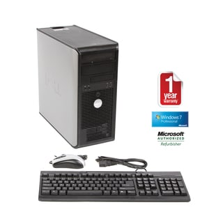 Dell OptiPlex 745 Core 2 Duo 1.86GHz 4096MB 1TB Windows 7 Pro 64-bit Mini Tower Computer (Refurbished)