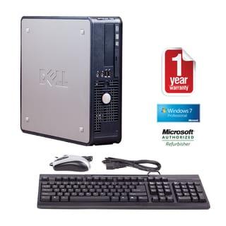 Dell OptiPlex 780 Core 2 Duo 3.0GHz 4096MB 1.5TB Windows 7 Pro 64-bit SFF Computer (Refurbished)