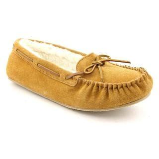 Minnetonka Women's 'Kayla Slipper' Regular Suede Casual Shoes (Size 5 )
